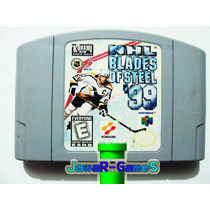 Nhl Blades Of Steel 99 Nintendo 64 - N64 ( Konami Sports )