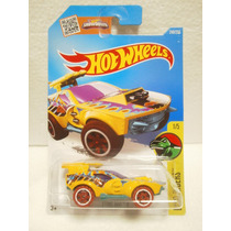 Hot Wheels Dino Riders Sting Rod Ii Amarillo 246/250 2016