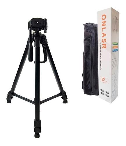 Tripie Para Fotografía Y Video Para Camaras Canon Nikon Cel