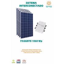 Kit 4 Panel 265 + Microinversor- Modulo Energía Solar