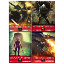 The Witcher, Andrzej Sapkowski - Set De 4 Libros En Ingles!