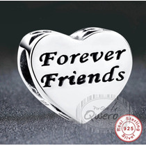 ec71d71da112 Charm 100% Plata Forever Friends Amigos Compatible Pandora en venta ...