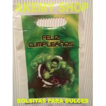 Aa Hulk 25 Bolsas Para Dulces Artículos De Fiesta