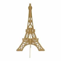 Torre Eiffel En Mdf 41 X 25 Cm