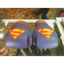 Guantes En Piel De Superman