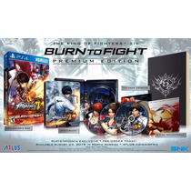 The King Of Fighters Xiv: Burn To Fight Premium Edition Ps4