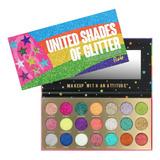 Paleta United Shades Of Glitter Rude