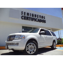 Lincoln Navigator Ultimate 4x2 2013 Piel Blanca