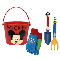 Guantes Midwest Y Engranaje My13p07-ea-az-6 Mickey Mouse Jer