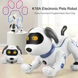 Perro Robot Le Neng Toys K16a Electrónico Con Acrobacias