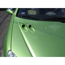 Toma De Aire Para Cofre De Peugeot 206 Fibra De Vidrio