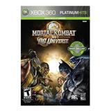 Xbox 360 Juego Mortal Kombat Vs Dc Universe - Envío Gratis
