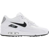 Original Mujer Tenis Nike Air Max 90 Capsula Blanco Negro ...