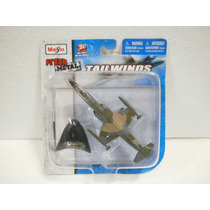 Maisto Fresh Metal Tailwinds Avion F-104 Starfighter Verde