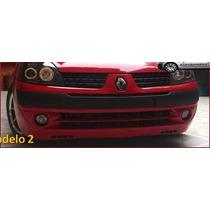 Facia Delantera Para Renault Clio Dos Modelos Plastico