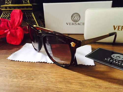 3b3b542855 Lentes Versace Unisex Moda Gafas De Sol