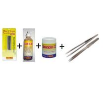 Kit Barritas Tonami + Fluxim22 + Pasta Generacion 22 +pinzas