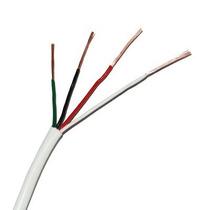 Cable Calibre 22, 4 Hilos, 305m, Color Blanco