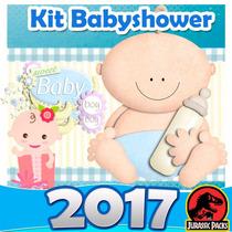 Baby Shower Kit Imprimible Babyshower Azul Rosa Juegos 2016