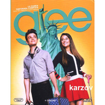 Glee Temporada 4 Cuatro . Serie De Tv En Blu-ray