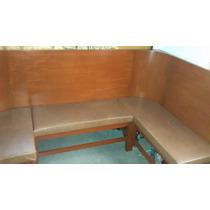 Bancas/mobiliario De Madera Para Cafeteria, Sala,oficina