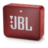 Bocina Jbl Go 2 Portátil Inalámbrica Ruby Red