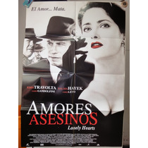 Poster Amores Asesinos John Travolta Salma Hayek Jared Leto