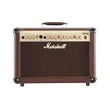 Amplificador Marshall Acoustic As50d 50w Transistor Marrón