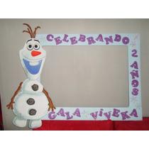 Marco Gigante Para Fiesta Cuadro Decorativo Frozen Olaf