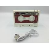 Bocina Bluetooth Retro Cassette Clasica Usb Microsd