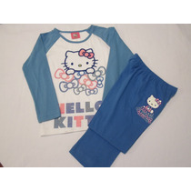 Pijama Playera Y Pantalon Para Niña Hello Kitty Rm4