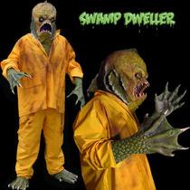 Disfraz Monster Black Lagoon Deluxe Nuevo Completo Halloween