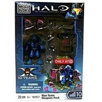 Juguete Mega Bloks Paquete De Armas Azul