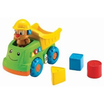 Fisher-price Laugh & Learn Camión Volquete Del Cachorro