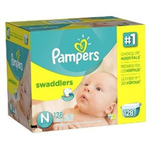 Pampers Pañales Swaddlers Tamaño N Paquete Gigante 128 Conde