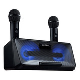 Sistema De Audio Karaoke Con 2 Microfonos Home Kar Spk-1 /vc