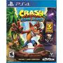 Crash Bandicoot N  Sane Trilogy (nuevo Y Sellado) - Ps4