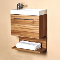 Mueble Coruña 50 Cerezo Muebles Pequeños Para Baño Modernos