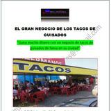 Negocio Tacos De Guisados Franquicia Dinero Incluye Recetas