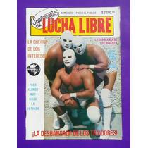 Vintage Revista Suplemento De Lucha Libre #35 La Ola Blanca