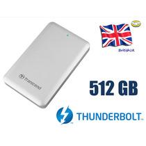 Disco Duro Ssd Transcend 500 Gb Thunderbolt Sjm500 Para Mac