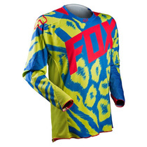 Jersey Fox 360 Marz Verde Azul Talla Xl Motocross Downhill