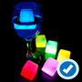 Hielos Neon Glow Party Para Fiestas Y Eventos Sin Pilas