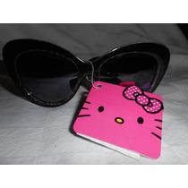 Hello Kitty Lentes Gafas Sol Sanrio Adulto! Regalo