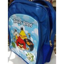 Mochila Escolar Angry Birds Envío Gratis