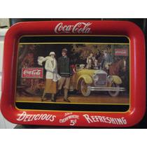 Coca Cola Charola Grande Tipo Cartel