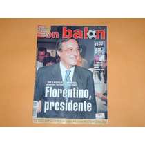 Revista Don Balon Fiorentino Presidente Real Madrid