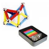 Juego De Bolas Magneticas 216 Piezas 5mm Colores Puzzle