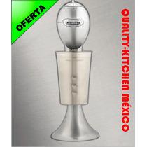 Esquimero Chocomilera Fuente De Sodas All Metal Plata