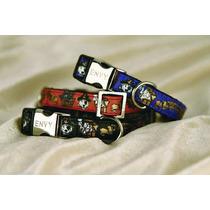 Collar De Perro - Pirata 10x 200-300mm Redx 1 Moda